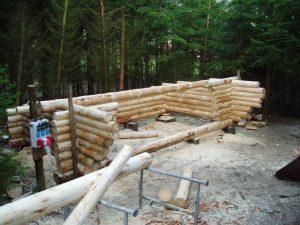 I januar 2005 er der gang i byggeriet af den tredje shelter.