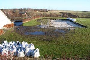 I december 2005 blev der gravet ud til Multibanen.
