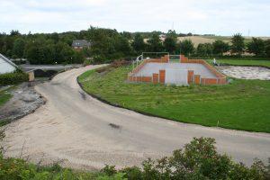 Multibanen er færdigbygget, nu gælder det løbe- og rulleskøjtebanen.