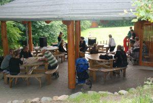 Der er også plads til musik og en hyggesnak ved Udtryk 2009.