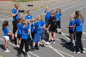 Børnemaraton skal til at gå i gang ved Udtryk 2009.